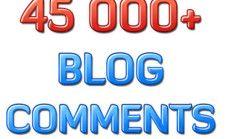make 40 quality blog comment backlinks