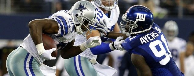 Watch live on NBC's Sunday Night Football: Dallas Cowboys vs. New York Giants (LM Otero/AP)