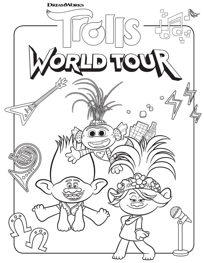 Trolls Poppy Coloring Page Fresh Trolls Poppy And Rainbow To Print For Free In 2020 Poppy Coloring Page Disney Coloring Pages Printables Disney Coloring Pages
