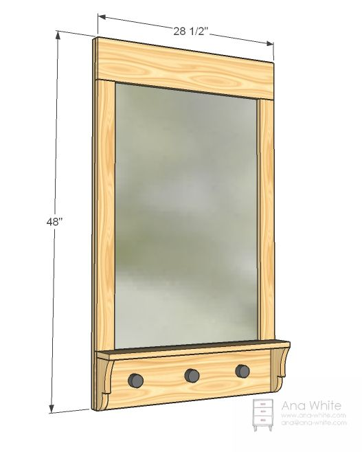 20 best images about mirrrors on pinterest bathroom for Bathroom mirror with shelf