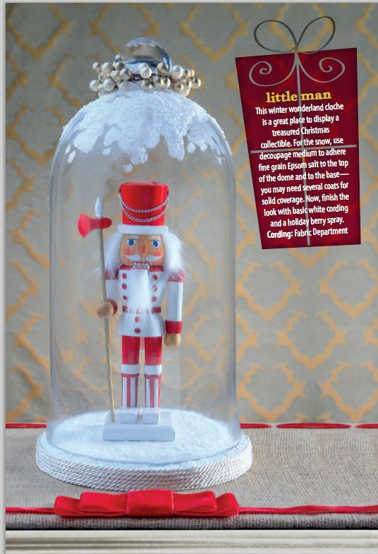 545 best nutcrackers christmas images on pinterest nutcrackers display treasured christmas collectibles in a cloche this season nutcracker soldierdance craftsnutcracker christmaschristmas diydecor solutioingenieria Image collections