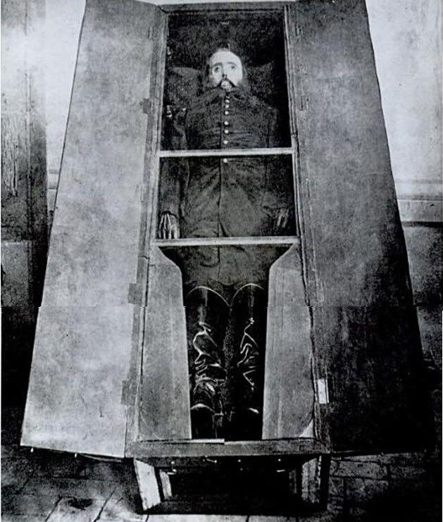 Cadáver de Maximiliano -Segundo Imperio Mexicano 1863-1867