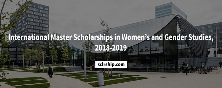 International Master #Scholarships in Women's and Gender Studies, 2018-2019  https://sclrship.com/fully-funded-scholarships/international-master-scholarships-in-womens-and-gender-studies-2018-2019/    #sclrship #onlineDegree