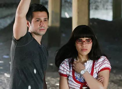 "Gio and Betty were MFEO! The chemistry was awesome. :) ""Ugly Betty"" ABC Studios"