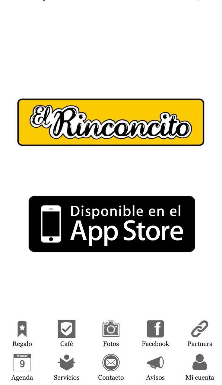 """Aplicación """"El Rinconcito"""".  Disponible en el App Store."""