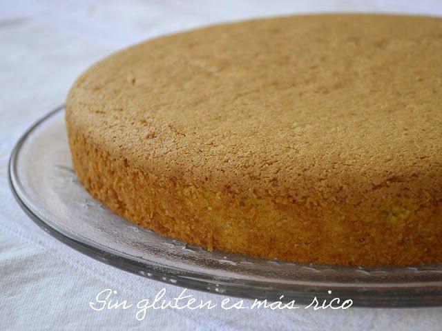 Sin gluten es más rico: Bizcocho de Calabaza y Almendra (sin gluten y sin lácteos)