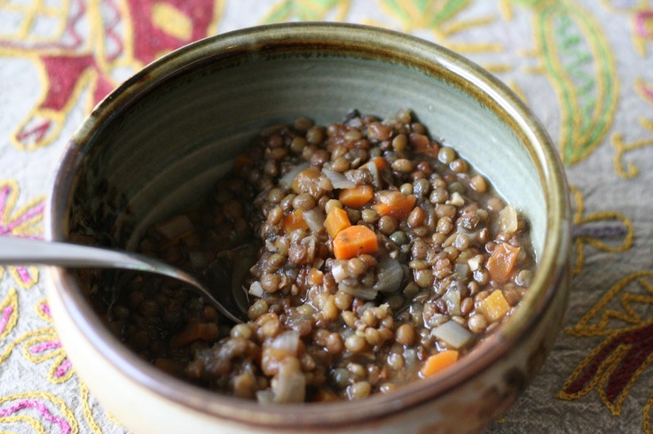 French Lentil Soup with Tarragon and Thyme from The Veganomicon