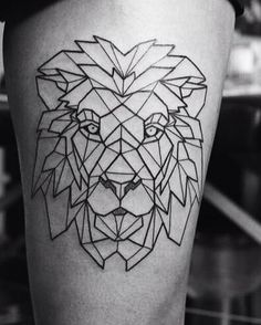 geometric animals tattoo - Поиск в Google