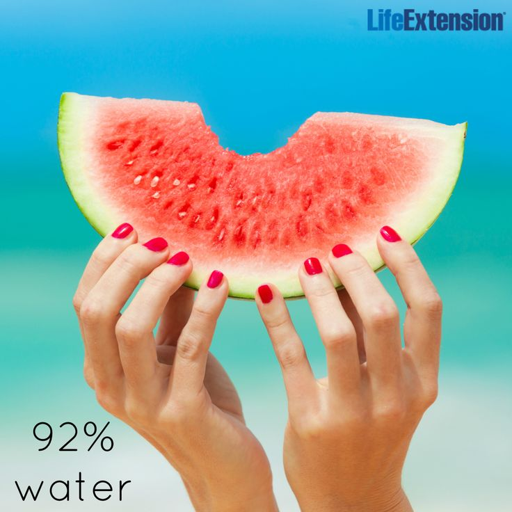 Thirsty? Watermelon will quench it! #hydration #water #watermelon #nutrition #lifeextension