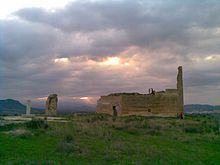 Mula (Murcia) - Castillo árabe de Alcalá o de la Puebla