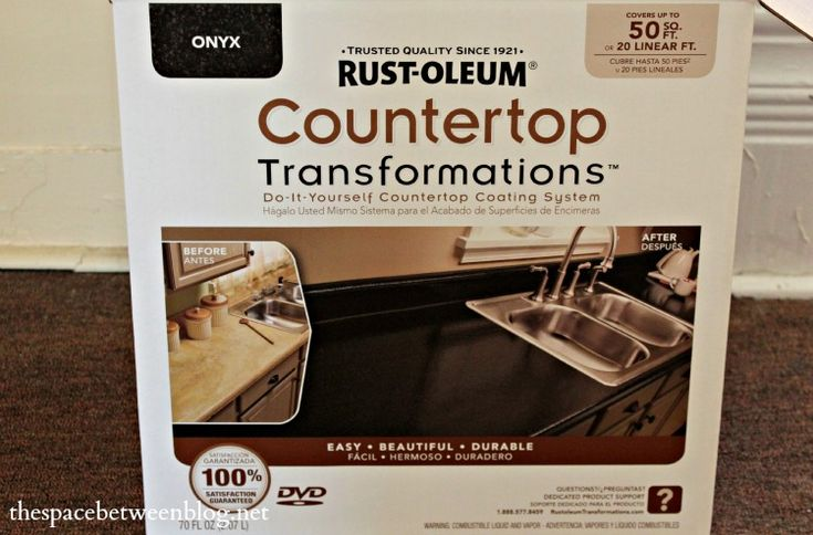 Rustoleum Countertop Paint Application : my application for dirtiest jobs {rustoleum countertop transformations ...
