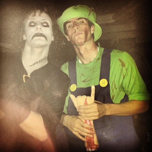 Lucas Piazon & David Luiz halloween | Lucas Piazon ...