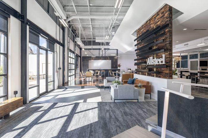 fotos von innenräumen des büroraums modernen zahnklinik allsteel showroom atlanta office snapshots 42 besten commercial interiors bilder auf pinterest büros