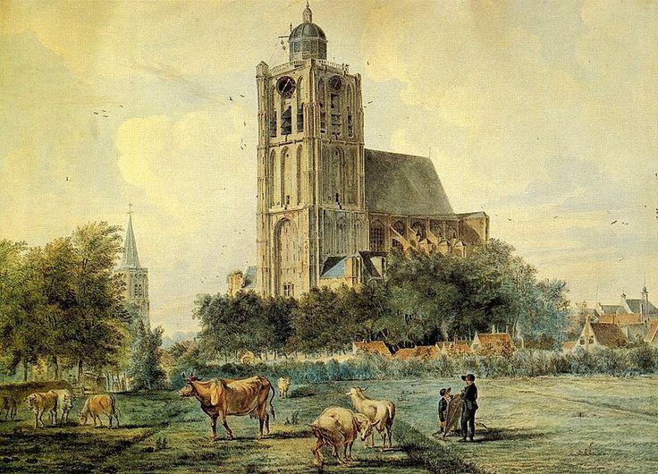 Brielle -24 mei 1417 de eerste steen gelegd van de St. Catharijnekerk. In augustus 1456 stortte de toren in na een brand,