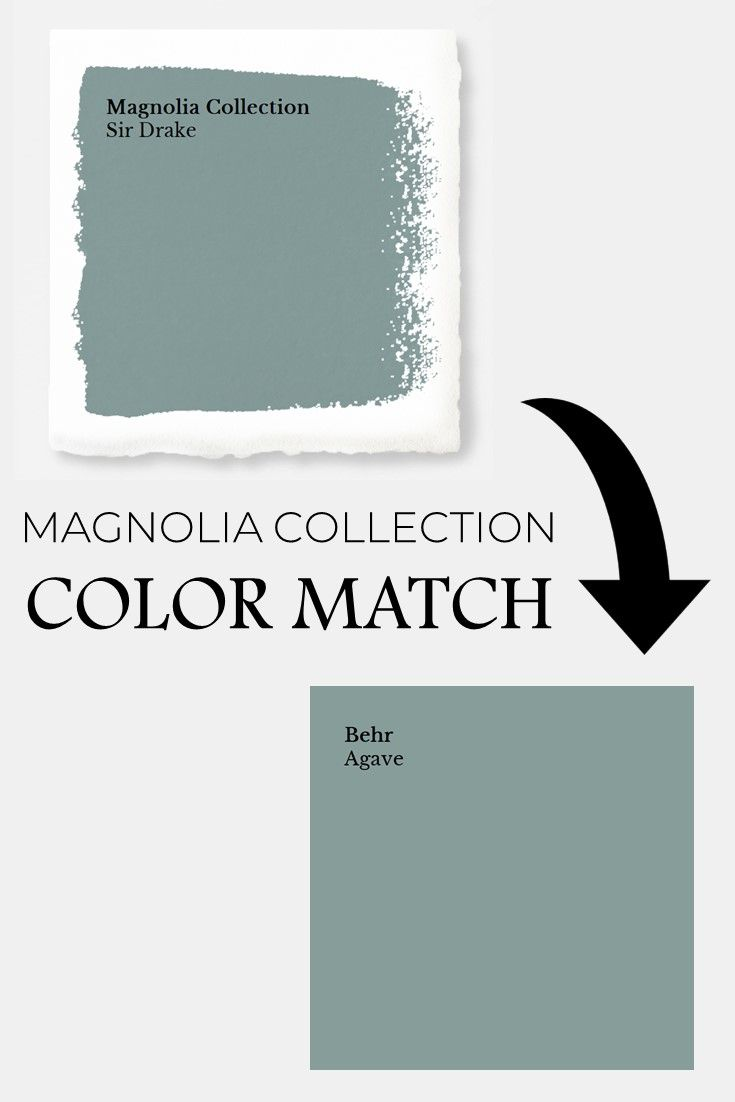 Sir Drake Color Match to Behr | Color Guide for Magnolia Home Paint | How to get... interior paint