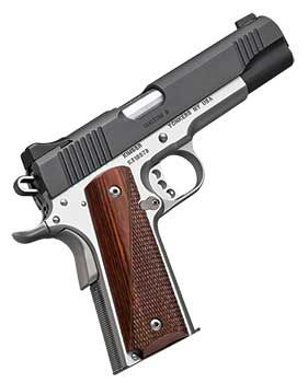 With Kimber's signature modern-classic style, the Two-Tone 1911 family embodies the custom features found standard on every Kimber 1911.