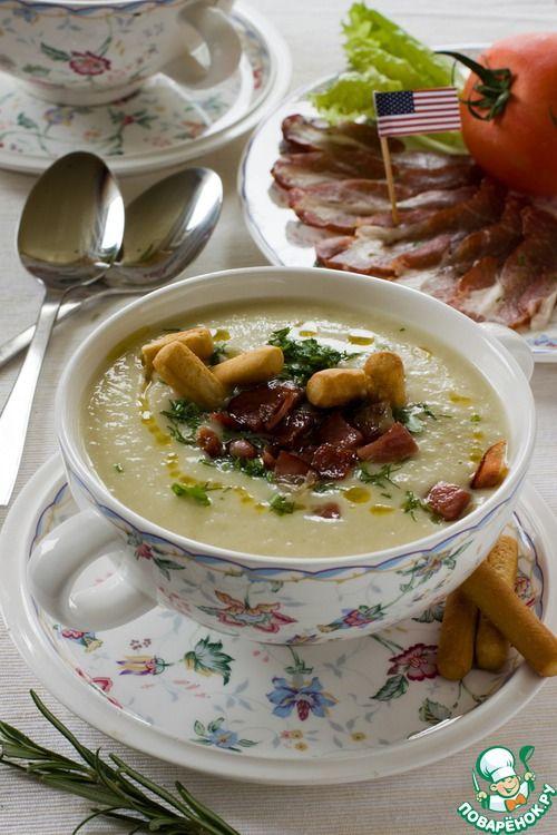 """Крем-суп """"Айдахо"""" - кулинарный рецепт"""