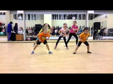 "Zumba Kids with Yana - ""Gangnam Style"" - YouTube"
