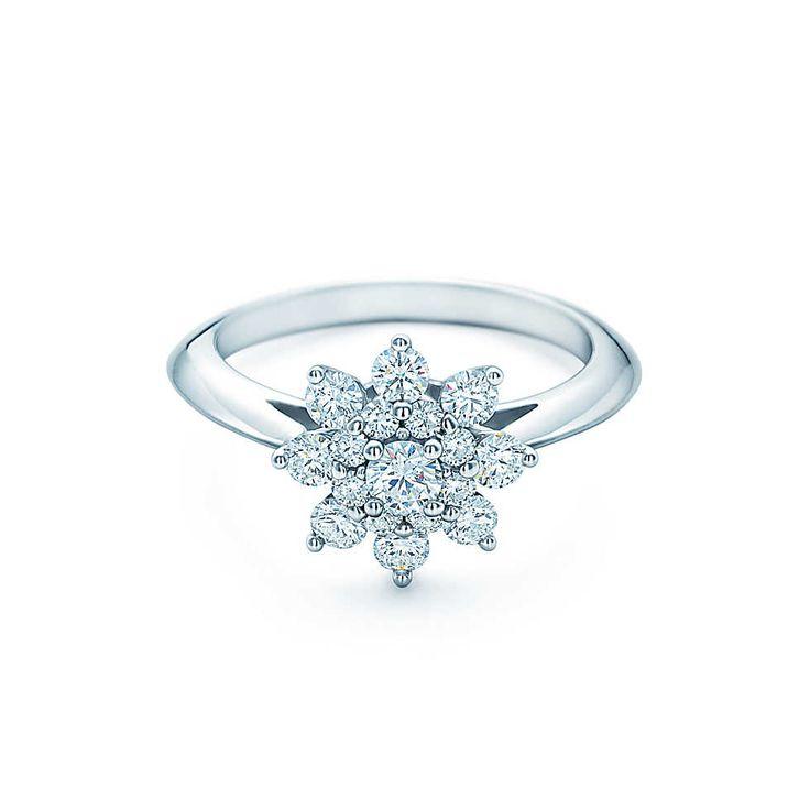 Tiffany Flower Anéis de NoivadoTiffany & Co - eu quero *-*