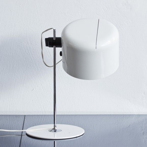 Located using retrostart.com > Coupe Desk Lamp by Joe Colombo for Oluce