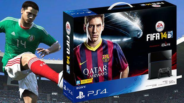 Actie: PS4 bundel met FIFA 15 alleen vandaag 419 euro