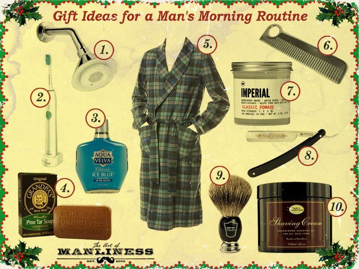 10 Gift Ideas for a Man's Morning Routine