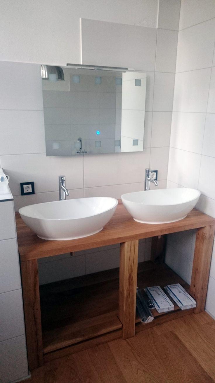 Waschbecken auf holzplatte : 10 besten referenzbilder waschbecken von badeloft bilder auf pinterest