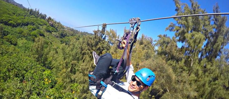 ZIPLINE TOUR WITH CLIMB WORKS KEANA FARMS – KAHUKU, HAWAII
