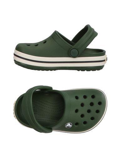 CROCS Boy's' Sandals Dark green 5C US
