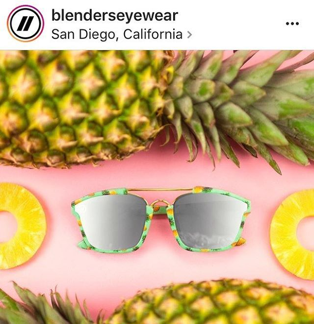 Check out some really sick shades that just dropped! Aren't these perfect for summertime?! •Use promo 4GZS20 at checkout for 20% off! Code will work endlessly on all items with @blenderseyewear• #blenderseyewear #summer #sunglasses #sunnies #pineapple #fresh #beach #ocean #waves #funtimes #lajollalocals #sandiegoconnection #sdlocals - posted by Lauren T  https://www.instagram.com/lauren_tag. See more post on La Jolla at http://LaJollaLocals.com