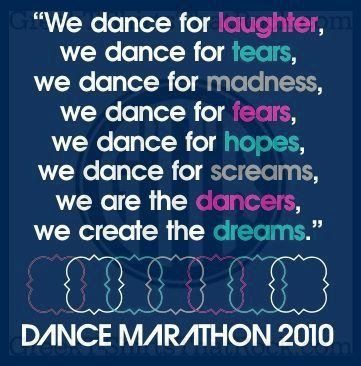 Im not in a sorority but I think this applies to me. I dance (and even sing) whenever possible.