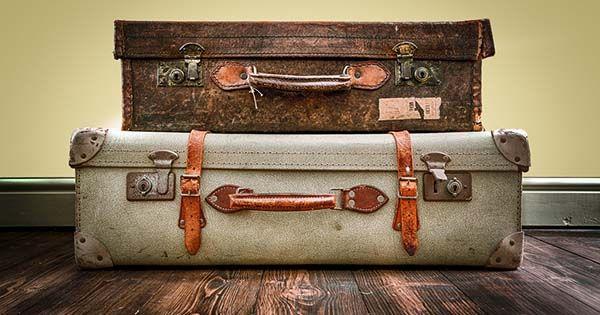 Máte doma staré kufre? Nevyhadzujte ich! Pomocou týchto 20 nápadov ich premeníte na niečo užitočné! DIY nápady- ako využiť staré kufre vintage retro