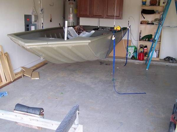 10 images about jon boat ideas on pinterest bass boat for Garage modification