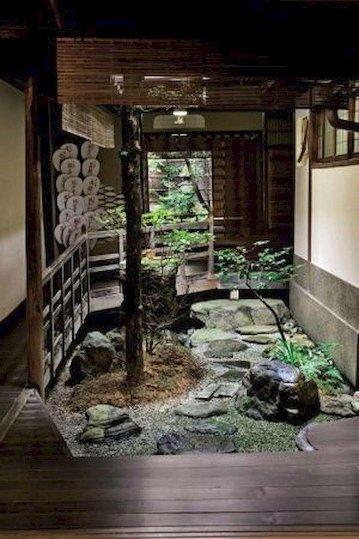 Japanese Mini Courtyard in 2020 Courtyard landscaping