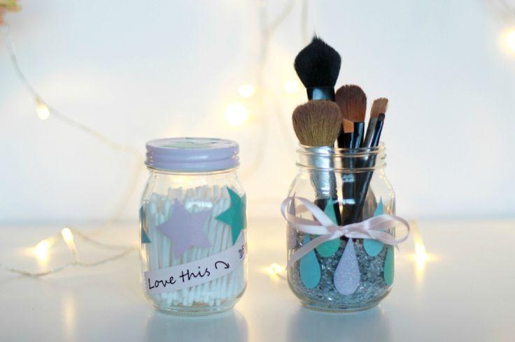 DIY - Makeup jar (stina)