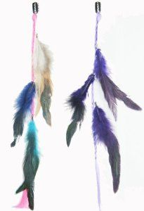 2 X Real Natural Feather Hair Extensions Grizzly Hair Extension Clip in on Beauty Salon Supply Wholesale Lot New by opt. $5.99. Package Includes: 2 pieces dyed Natural Feathers hair extensions.. User Friendly: Make your own hair style.. Material: Real Natural Feather. 2 X Real Natural Dyed Grizzly Feather Hair Extensions Clip In On Beauty Salon Supply Wholesale Lot New. Length: about 14 (35cm). Real Natural Feather Hair Extensions Clip In On . Make your own hair ...