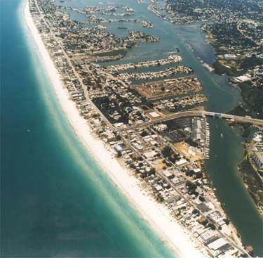 Indian Rocks Beach, Florida The sand feels like baby powder! The water is clear. The waves are gentle! I loved this place