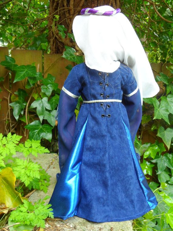 Medieval outfit for your American Girl by CarmelinaCreations