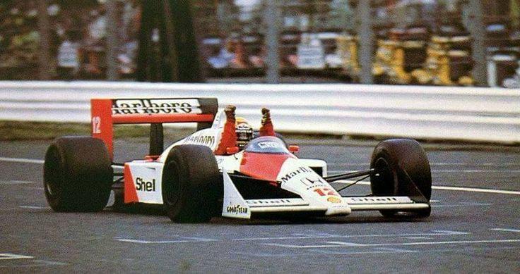 Suzuka 1988 McLaren Mp4/4 Honda turbo.