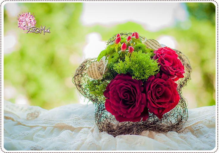 """Bouquiniste"" Bridesmaid bouquet"
