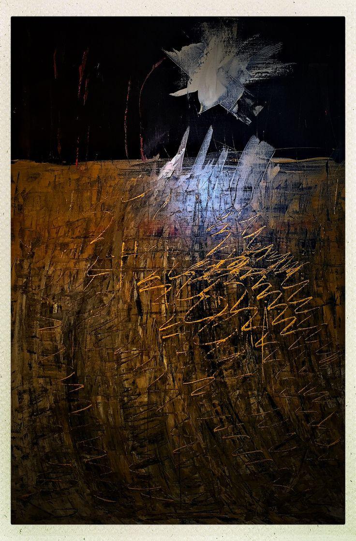 The early bird Acrylic on canvas 90x60cm