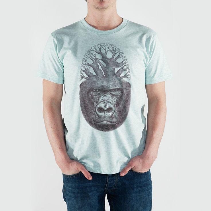 Cristina Orsini - Ritratto Gorilla -Basic T-Shirt - 19€