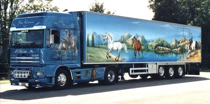 camion décoré