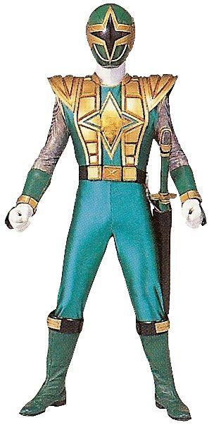 power rangers ninja storm green samurai ranger | ... Watanabe - RangerWiki - the Super Sentai and Power Rangers wiki
