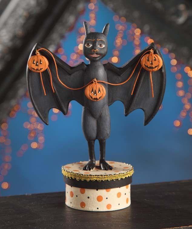 Bethany Lowe Halloween Haunted Halls Bat AL2013 by Alan Cunningham New
