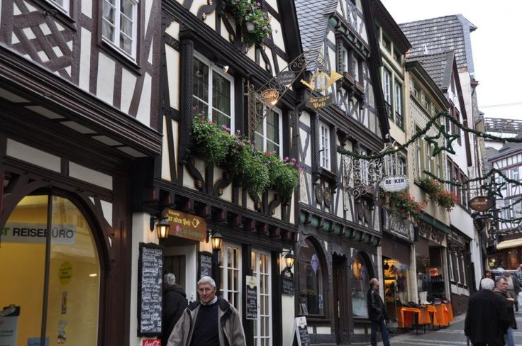 Linz am Rhein hat eine sehr gut erhaltene und weitläufige Fachwerkaltstadt