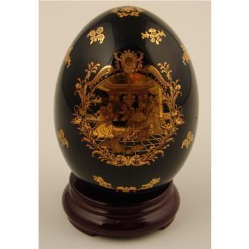 Porcelain Eggs Limoges Porcelain Decorative Egg