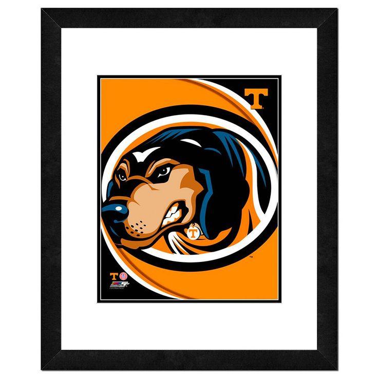"Tennessee Volunteers Team Logo Framed 11"" x 14"" Photo, Multicolor"