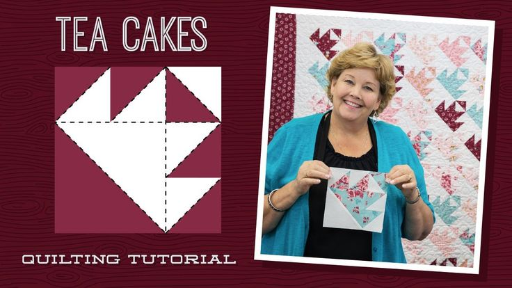 Make a Tea Cakes Quilt with Jenny!