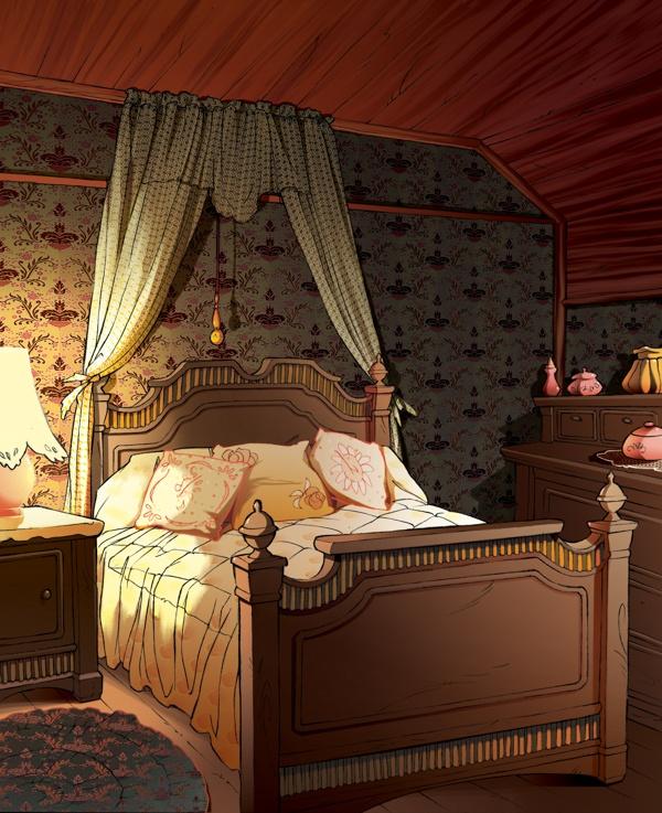 Fairy Oak-Lilac Tomelilla's bedroom   #ElisabettaGnone #libri #books #romanzo #novel #art #drawing #picture #sketch #draw #artist #illustration #pencil #reading #fable #fiaba